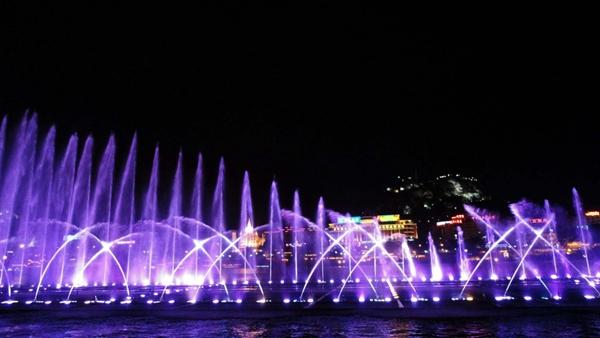 乌兹别克斯坦音乐喷泉案例