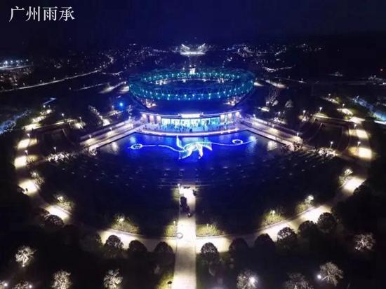 郑州园博园A3标音乐喷泉